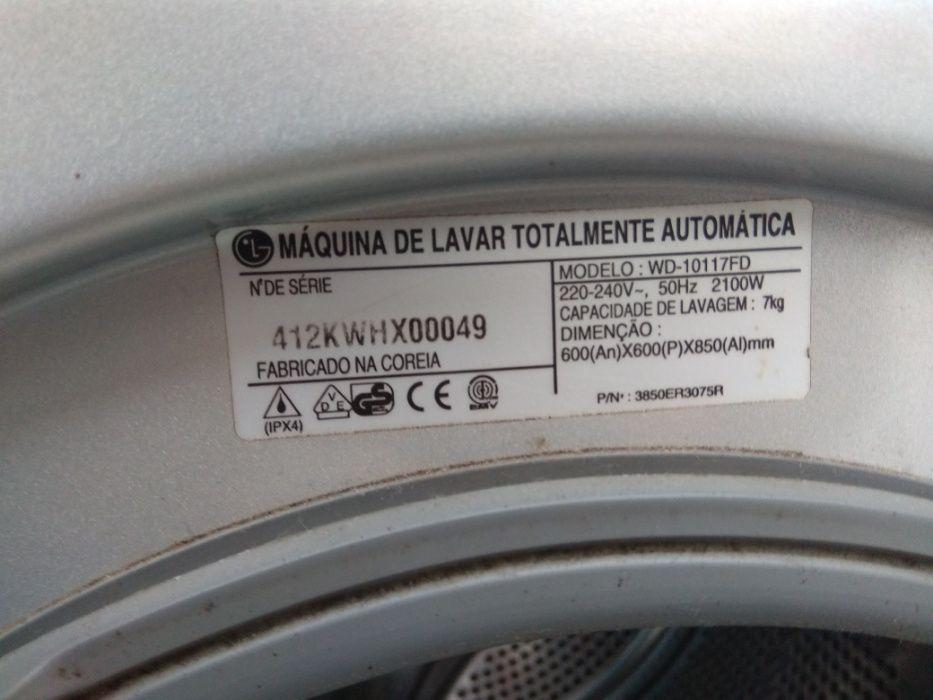Peças máquina de lavar LG