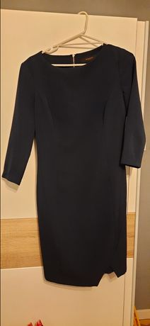 Sukienka granatowa reserved 40