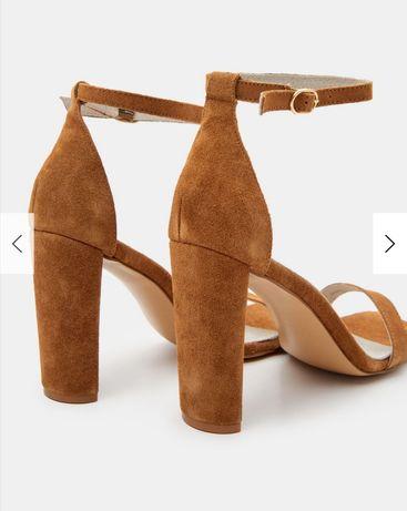 Sandały Mohito 36 camel brąz nowe