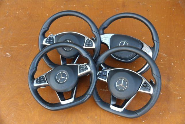 Руль подушка airbag Mercedes-Benz W205 W253 W222 C/E/S/GLC/GLE