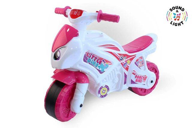 Беговел-мотоцикл для девочки