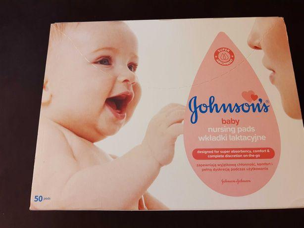 Wkładki laktacyjne Johnson 50 szt. + jednorazowe majtki poporodowe