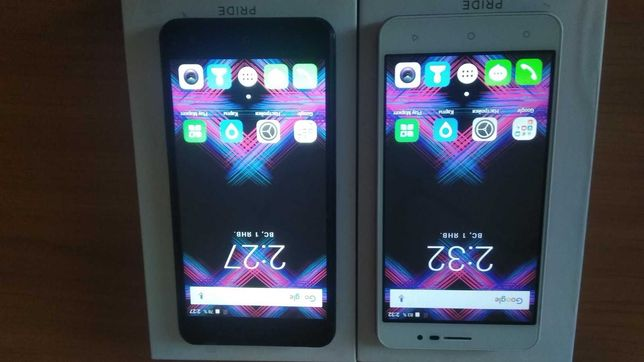 Смартфон телефон Pixus Pride черный / белый