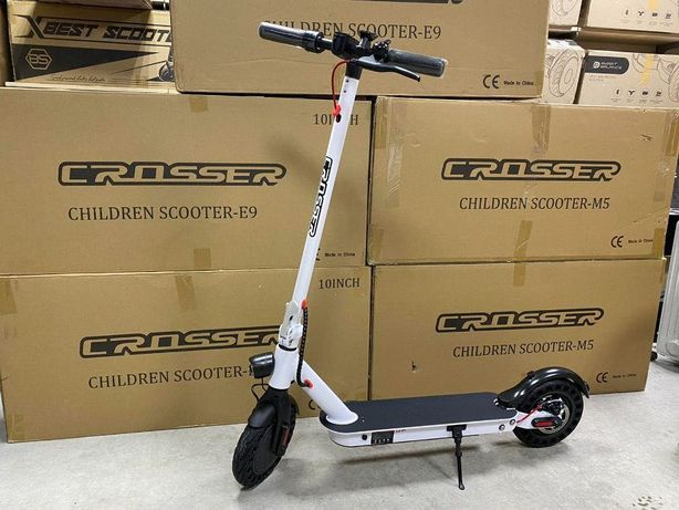 Электросамокат Crosser E9 Premium AIR (10 inch) - 7,5Ah Мощность 500W!