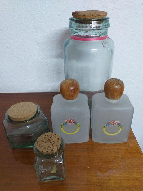 5 frasco de vidro