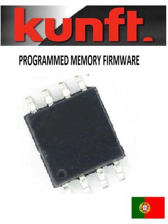TV LCD KUNFT 32CGL210016 TP.S506.PB818 MX25L3205 memoria programada
