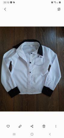 Школьная рубашка на 122-128