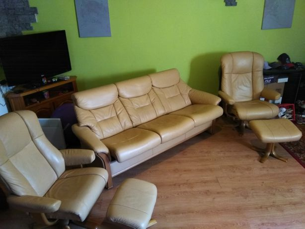 Кожаная мебель,5 предметов