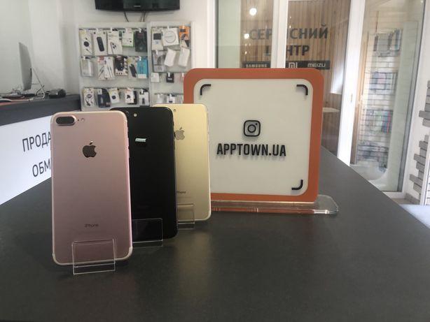 IPhone 7 plus Black/Gold/Rose/Silver 32/128/256GB Neverlock+Гарантия