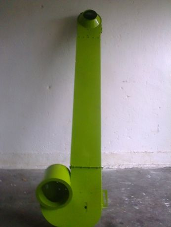 Obudowa,rynna podajnika ziarnowego Claas Mega 208