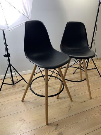 Drewniany hoker EAMES krzesło