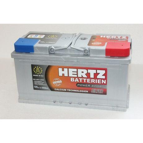 Akumulator Hertz 12V 100ah 105Ah 110ah 950a 36m-cy Gwarancji
