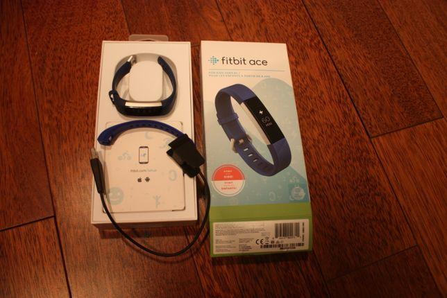 Opaska Krokomierz oryginalna Fitbit Ace niebieska - komplet