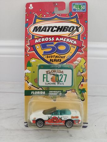 Matchbox Chevrolet Camaro SS 50th Birthday Across America