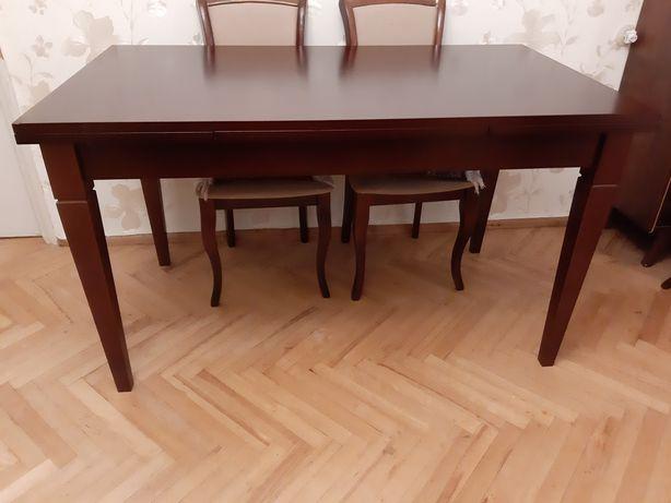 Стол деревянный раздвижной  140 × 80 × 80  (220×80)