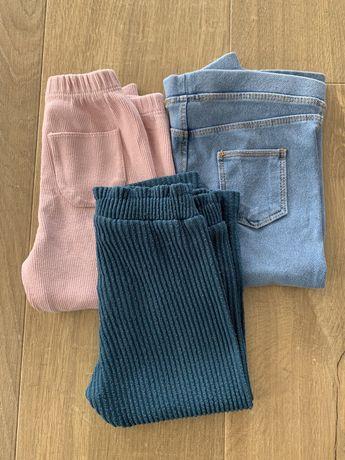 Spodnie zestaw ZARA 86 dziewczynka