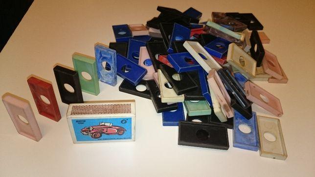 vintage retro domino PRL , około 94 kostek