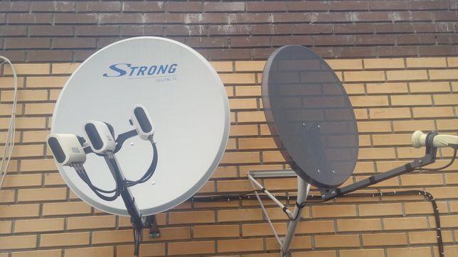 Ремонт, установка Т2 и спутниковых антен