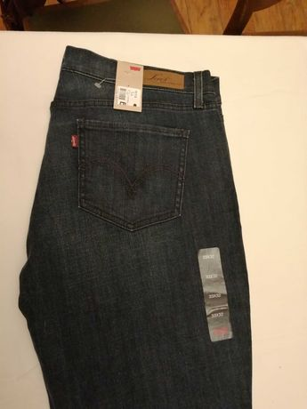 Jeansy Levis 33/32 model 524