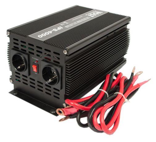 Przetwornica 24V 230V samochodowa napięcia IPS 2000W/4000W (PRZ27)