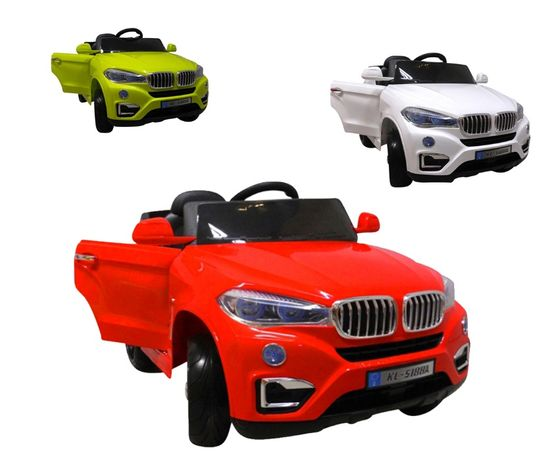 AUTO NA AKUMULATOR BMW Miękkie koła EVA 2x Silnik Zdalnie sterowany!