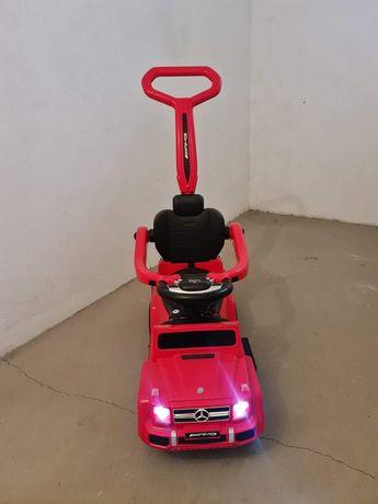 Mercedes pchacz jeździk jak nowy