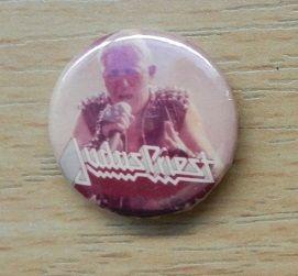 Judas Priest stary button z lat 80-tych