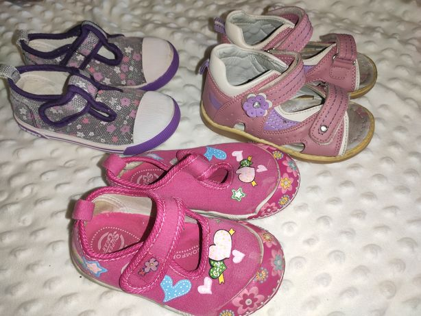 Пакет летней обуви 22-23 Arial Clibee SuperGear босоножки кеды мокасин