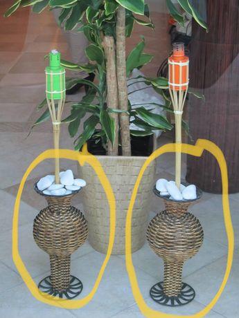 Vasos de suporte / decoracao