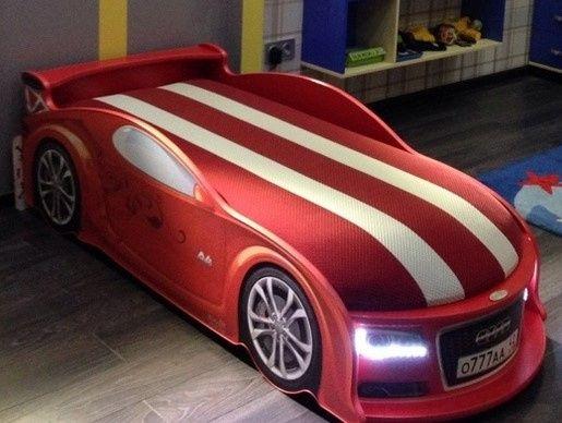 Детская Кроватка Машинка Диван, Audi/Ауди A4 (Бесплатная доставка)
