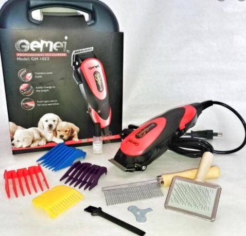 Профессиональная машинка Gemei GM-1023 для стрижки животных