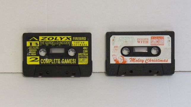 Jogos originais Moley Christmas Zolyx outros para Sinclair Zx Spectrum
