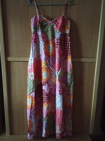 Яркое платье, сарафан, размер L