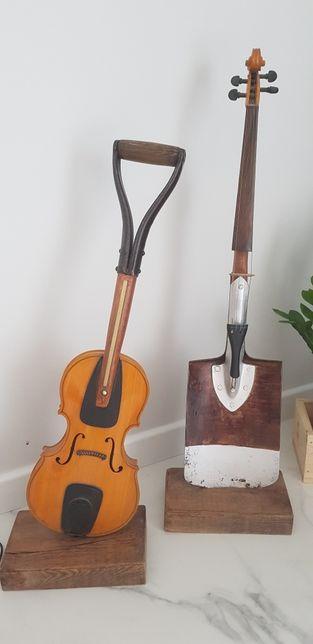 Rekodzieło skrzypce łopata