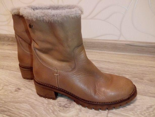 СРОЧНО! Сапоги новые Carmela 39 КОЖА, сапожки женские кожаные, ботинки