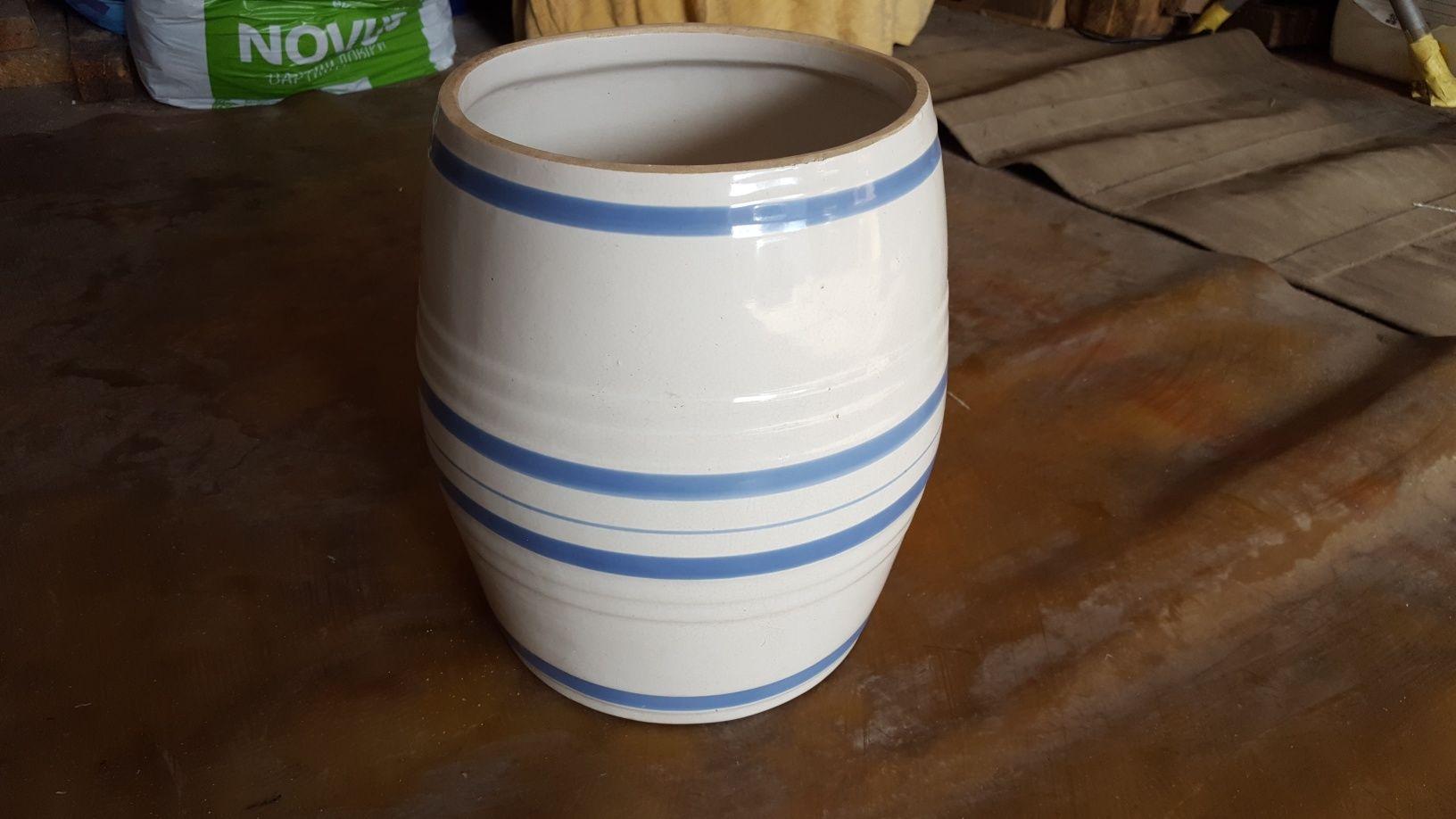 Керамический горшочек, бочонок, 3 литра