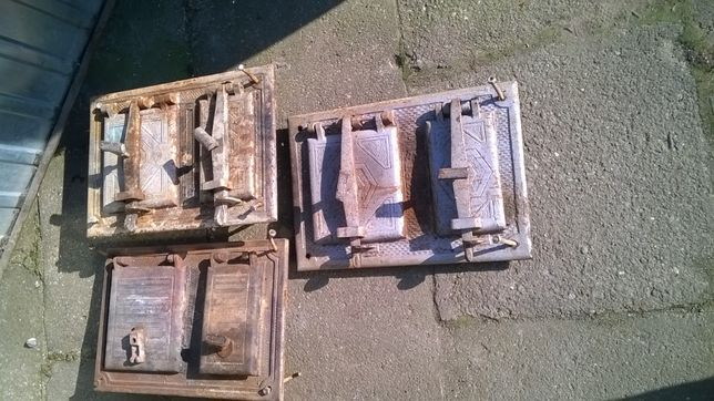 drzwiczki żeliwne do pieca ruszta żeliwne