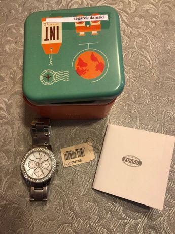 Zegarek damski FOSSIL srebrny