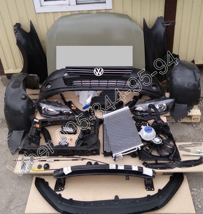 Volkswagen Polo Фольксваген Поло Капот Крыло Бампер Фара Фонарь Панель Днепр - изображение 1
