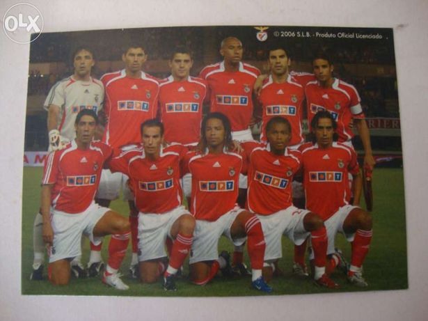 Postal do Benfica 2006