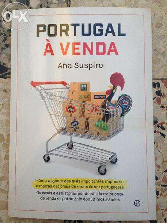 """Livro """"Portugal à Venda"""" de Ana Suspiro"""