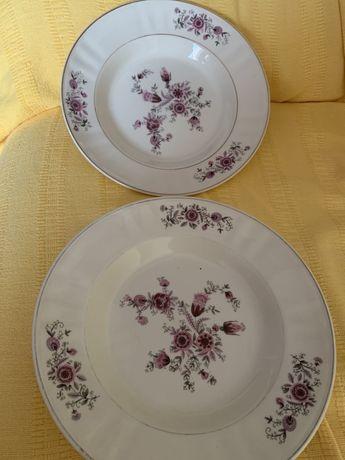 2 pratos antigos em excelente estado, Sacavem