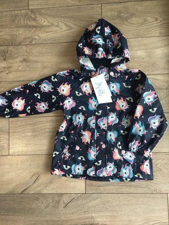 Куртка дождевик для девочки 2-3 года H&M 98,104 р