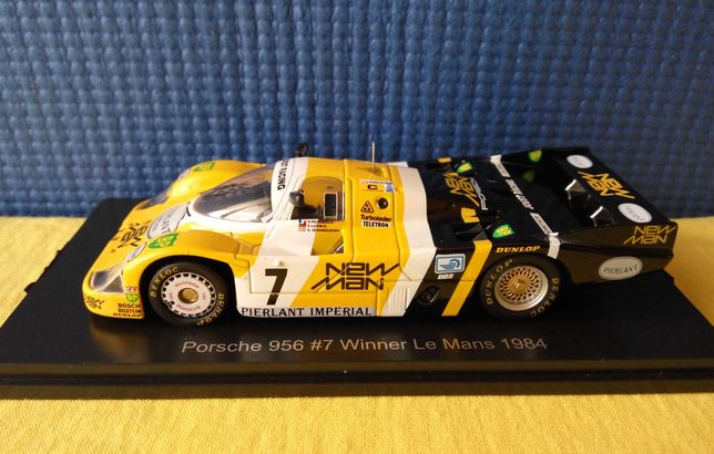 Модель Porsche 956 #7 - Le Mans 1984, масштаб 1:43, Spark