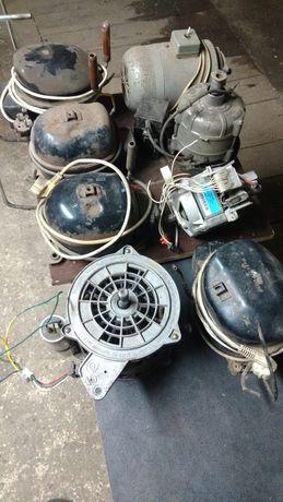 Kompresor z lodówki, silnik elektryczny