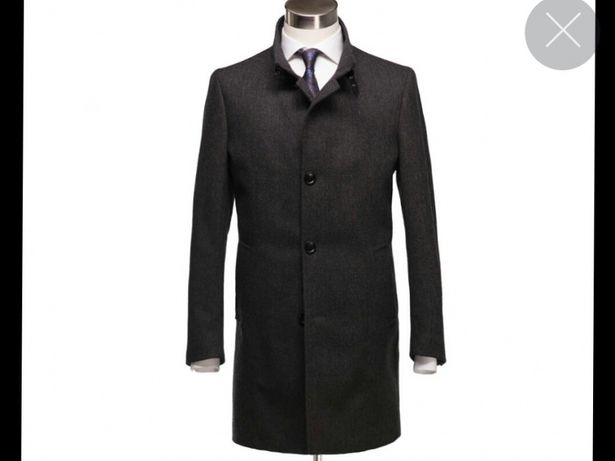 Płaszcz męski PAWO Par nowy