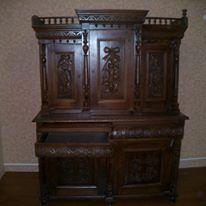 Старинная дубовая мебель