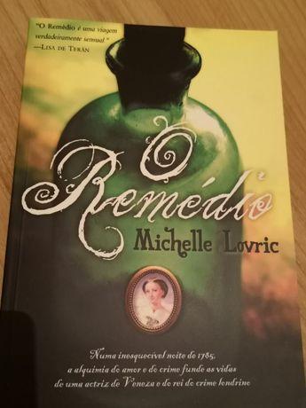 """Livro """"O Remédio"""",de Michelle Lovric"""