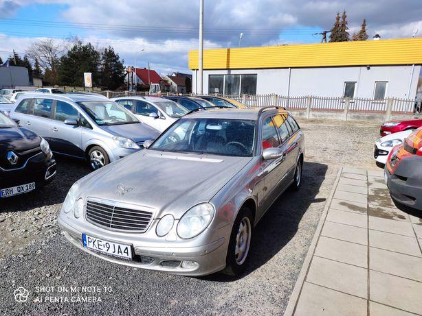 Mercedes E klasa w 211 kompresor 100% bezwypadek idealny stan