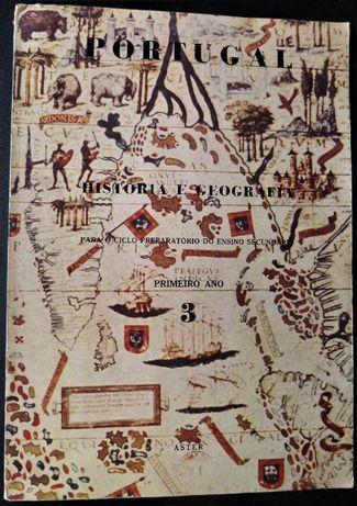 """""""História e Geografia"""" do 1º Ano do Ciclo Preparatório"""
